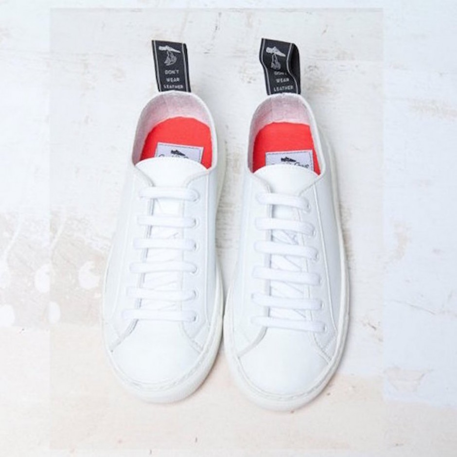 SNEAKERS GOOD GUYS SAMO WHITE VEG.LEATHER
